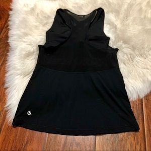 LULULEMON Mesh Top W/Built In Sports Bra
